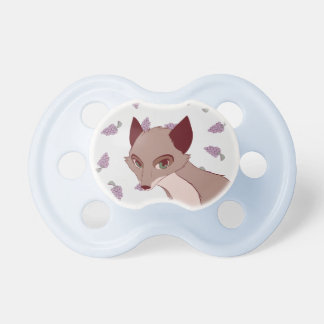 Fox and grapes pacifier