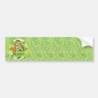 Fox and Grapes: Vin Blanc Bumper Sticker