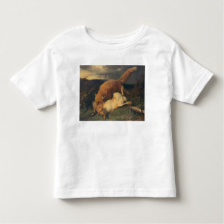 Fox and Hare, 1866 Toddler T-shirt