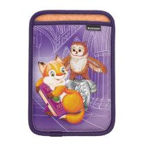 fox and owl iPad mini sleeve