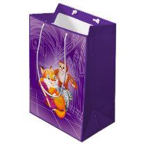 fox and owl medium gift bag