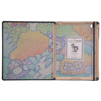 fox and rabbit case for iPad