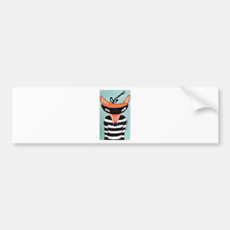 Fox and Robbers by PaperTree Bumper Sticker