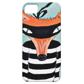 Fox and Robbers by PaperTree iPhone SE/5/5s Case