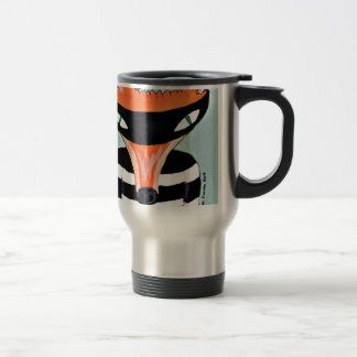 Fox and Robbers by PaperTree 15 Oz Stainless Steel Travel Mug