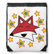 Fox and stars bag