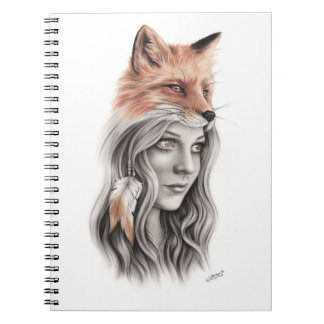 Fox and the girl Notebook