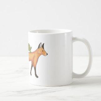Fox and Turtle Mug
