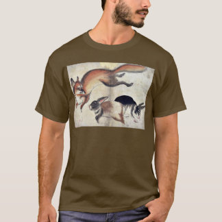 Fox and two hares Ukiyo-e. T-Shirt