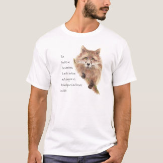 Fox, Animal Totem, Spirit Guide, Symbol T-Shirt