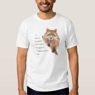 Fox, Animal Totem, Spirit Guide, Symbol Tee Shirt