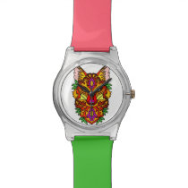 Fox Animal Wrist Watch