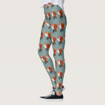 FOX & ANTLER OWL LEGGINGS