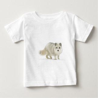 Fox ártico blanco t shirts