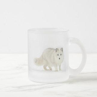 Fox ártico blanco taza