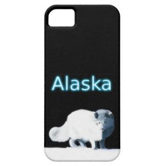 Fox ártico brillante iPhone 5 funda