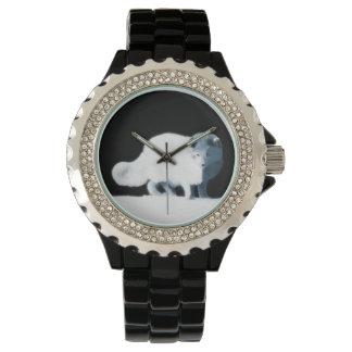 Fox ártico brillante relojes