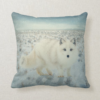 Fox ártico cojines
