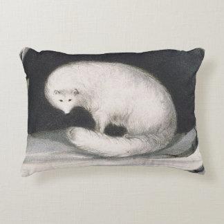 Fox ártico, de la 'narrativa de un segundo viaje cojín decorativo