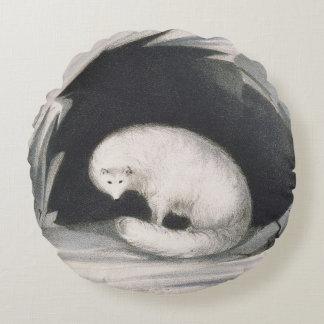 Fox ártico, de la 'narrativa de un segundo viaje cojín redondo