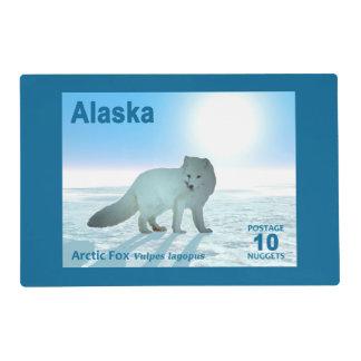 Fox ártico - Franqueo de Alaska Tapete Individual