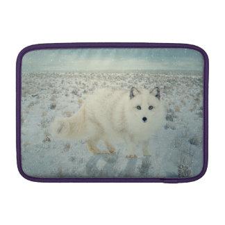 Fox ártico funda macbook air