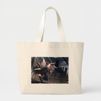 Fox Assassin Large Tote Bag