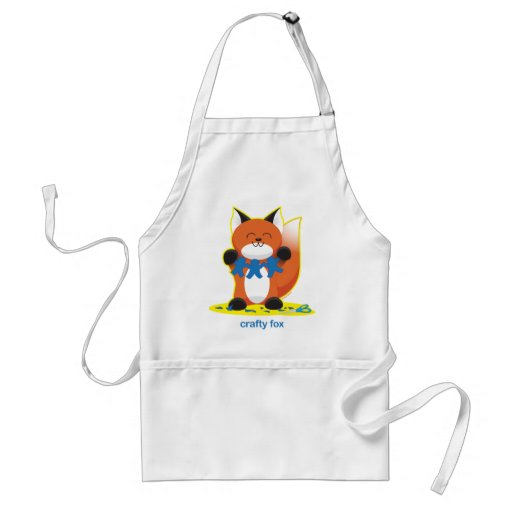 Fox astuto delantal