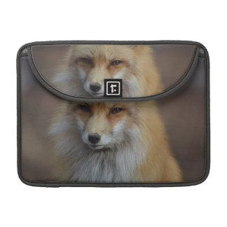 Fox astuto fundas para macbooks