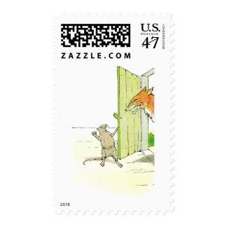 Fox at the Door Postage