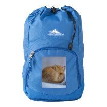 Fox bag, foxy shopper, tote, handbag, wildlife high sierra backpack