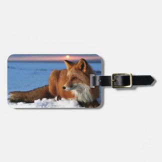 Fox Bag Tag