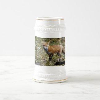 Fox  Beer Stein Mug