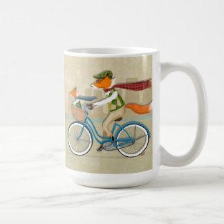 Fox Bike Coffee Mug