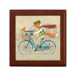 Fox Bike Keepsake Box