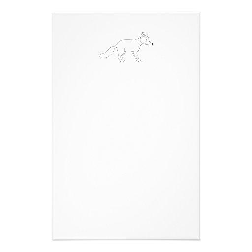 Fox. blanco papeleria personalizada