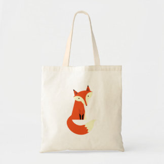 Fox Budget Tote Bag