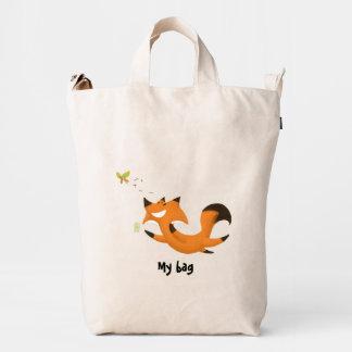 Fox butterfly duck bag