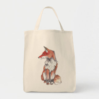 Fox by Inkspot Pillow Tote Bag