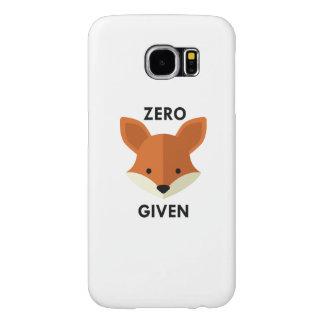 Fox cero dado funda samsung galaxy s6