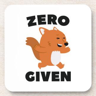 Fox cero dado posavaso