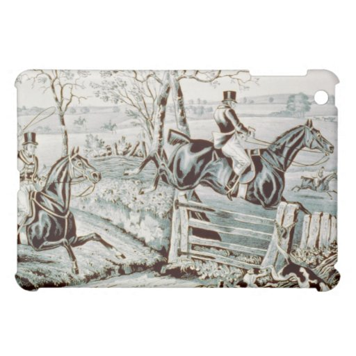 Fox Chase in Full Cry iPad Mini Cover