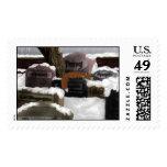 Fox Cimitiere Stamp