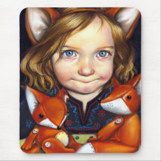 Fox Clan Mouse Pad