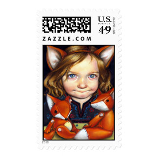 Fox Clan Postage