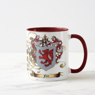 Fox Coat of Arms (2-sided) Mug