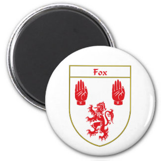 Fox Coat of Arms/Family Crest Magnet