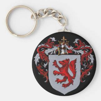 Fox Coat of Arms Keychain