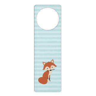 Fox curioso colgadores para puertas