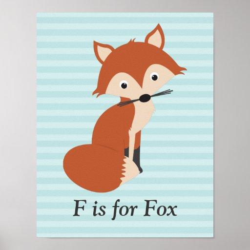 Fox curioso posters